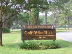 Golf Villas for rent at Bay Point Resort in Panama City Beach, Florida in Bay County