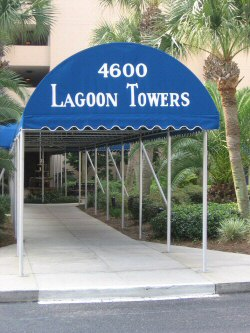 Condos for rent at Lagoon Towers in Bay Point Resort, Panama City Beach, FL