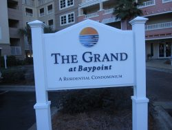 Vacation rentals at The Grand at Bay Point