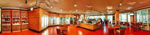 Restaurants at Bay Point Resort in Panama City Beach, Florida.